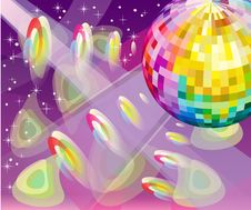 Free Disco Background Royalty Free Stock Images - 20315649