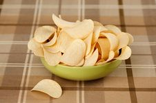 Free Potato Chips Royalty Free Stock Photography - 20315907