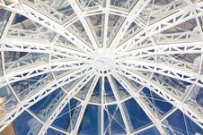 Free Modern Glass Roof Of Building Royalty Free Stock Photography - 20316157