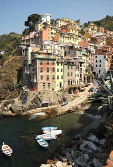 Free Village Of Riomaggiore - Italy At It S Best Stock Photo - 20316160