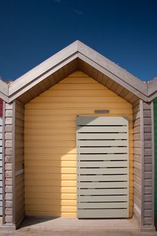 Free Single Beach Hut Stock Photography - 20316342