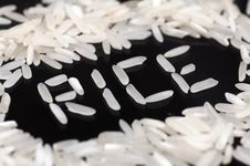 Free Grain Of Rice Royalty Free Stock Photography - 20316947