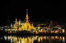 Free Jongklang Temple Royalty Free Stock Photos - 20317538