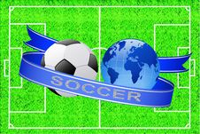 Free Soccer. Royalty Free Stock Photography - 20317567