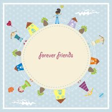 Free Forever Friends Royalty Free Stock Images - 20317909