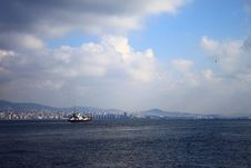Free Ship On The Sea Of Marmara Royalty Free Stock Image - 20317996