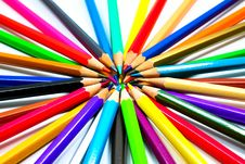 Free Colouring Crayon Pencils Royalty Free Stock Images - 20318089