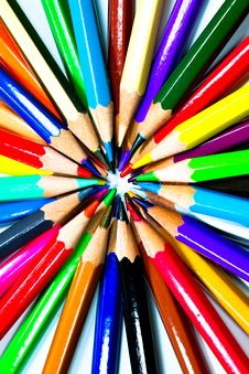 Free Colouring Crayon Pencils Stock Photo - 20318370