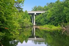 Free Soddy Creek Bridge Stock Photo - 20318740