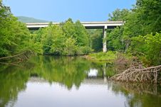 Free Bridge Over Soddy Creek Stock Photo - 20318760
