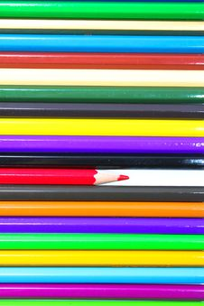 Free Colouring Crayon Pencils Royalty Free Stock Photos - 20318768
