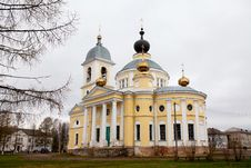 Free The Grand Cathedral Of The Dormition In Myshkin. Stock Photo - 20318800