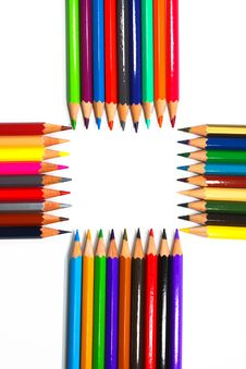 Free Colouring Crayon Pencils Royalty Free Stock Photos - 20318828