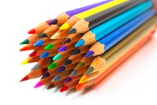 Free Colouring Crayon Pencils Stock Photo - 20318870