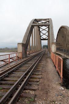 Free Railway Bridge Royalty Free Stock Photo - 20319055