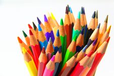 Free Colouring Crayon Pencils Stock Photos - 20319063
