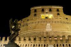 Free Castel Sant Angelo Rome Stock Image - 20319741