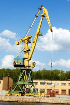 Free Working Crane Stock Photography - 20319882