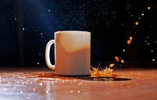Free Coffee Splash Royalty Free Stock Photo - 20319905