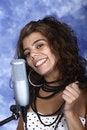 Free Happy Singer Stock Photos - 20320113
