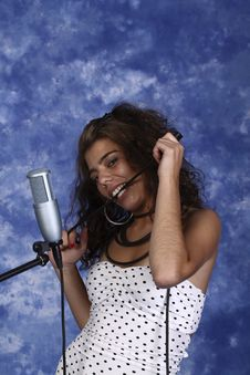 Free Singer Woman Stock Photography - 20320042