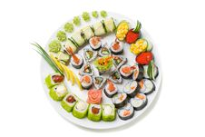 Free Photo Of A Rolled And Sushi Royalty Free Stock Image - 20320276