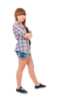 Free Portrait Of Teen Girl Isolated Stock Images - 20320394