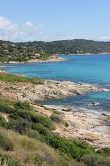 Free Saint Tropez Bay On The French Riviera Royalty Free Stock Images - 20320499