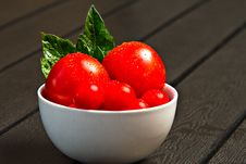 Free Bowl With Tomatoes Royalty Free Stock Images - 20320689