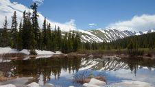 Free Rocky Mountain Lake Royalty Free Stock Photo - 20320825