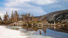 Free Lake Isabelle Reflections Stock Photo - 20320840