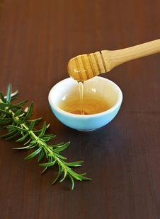 Free Rosemary And Honey Royalty Free Stock Photos - 20320938