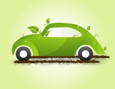 Free Eco Car Royalty Free Stock Photo - 20321005