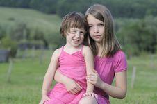 Free Beautiful Girls Posing Together Royalty Free Stock Image - 20323026