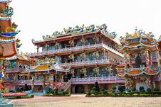 Free Buddhist Chinese Temple Stock Photography - 20323742
