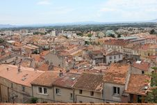 Free Areal View Over Hyères, France Royalty Free Stock Images - 20323819
