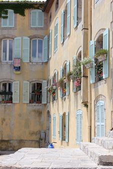 Free Vintage House In Hyères, Southern France Stock Photos - 20323913