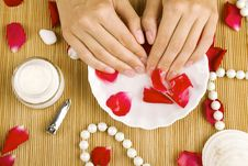 Free Relaxation Of Hands Royalty Free Stock Image - 20324096