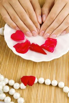 Free Relaxation Of Hands Royalty Free Stock Image - 20324206