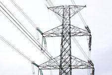 Free Electric Line Power Stock Image - 20324271