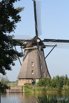 Free Windmill On A Summer Day Stock Image - 20324331