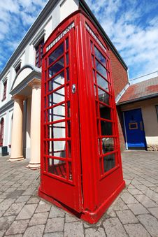 Free Traditional Red Telephone Box In London Royalty Free Stock Photo - 20324395