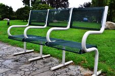 Free Metal Chairs Royalty Free Stock Image - 20324656