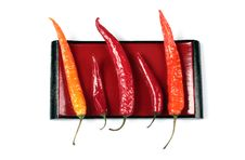 Free Red Pepper Chili Royalty Free Stock Photography - 20324667
