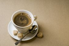 Free Black Coffee Cup Royalty Free Stock Photo - 20324825
