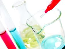 Free Laboratory Glassware Royalty Free Stock Image - 20324896