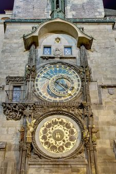 Free Astronomical Clock Royalty Free Stock Image - 20324966