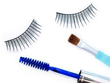 Free Make-up Accessories Royalty Free Stock Photo - 20324995