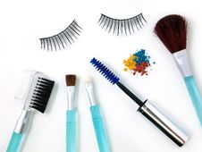 Free Make-up Accessories Royalty Free Stock Images - 20325009