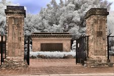 Free Infrared - Garden Entrance Royalty Free Stock Image - 20328046